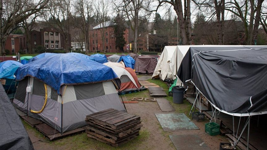Seattle homeless crisis: Historic cemetery overrun with drugs and prostitution amid worseningproblem