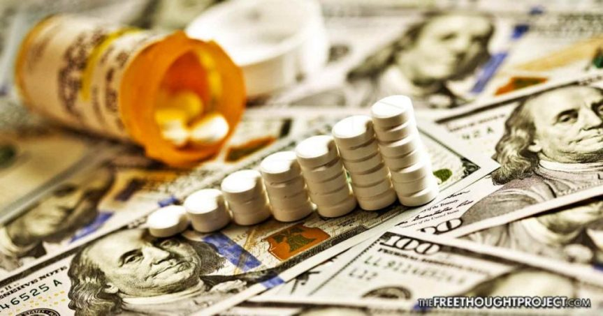 Opioid Makers/Distributors Dumped On Reports Of Federal CriminalProbe