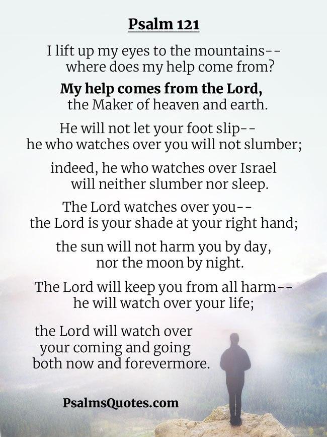 SHIR LAMAALOT / SONG OF ASCENTS שיר למעלות (Psalm 121) – JamesBlock
