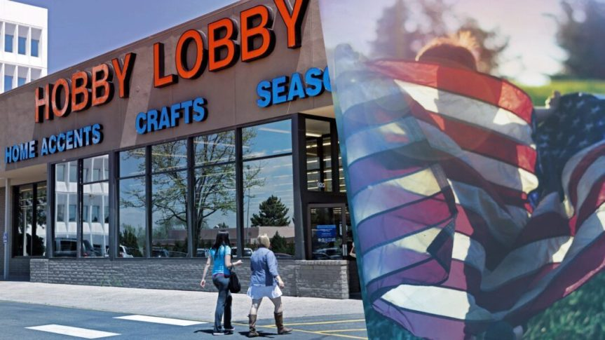Hobby Lobby Faces Backlash for Ad Declaring America is 'One Nation UnderGod'