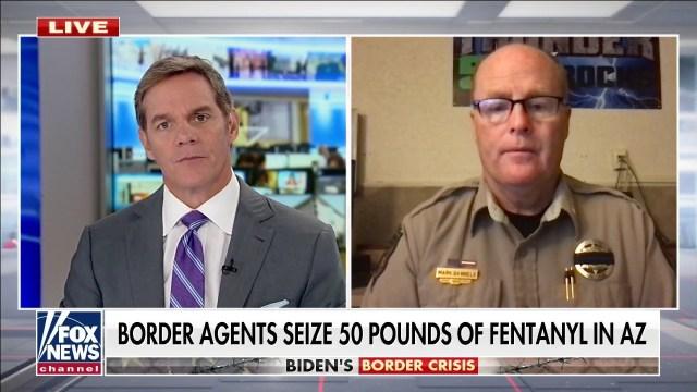 Arizona sheriff sounds alarm on massive fentanyl seizures: 'The war on drugs isback'